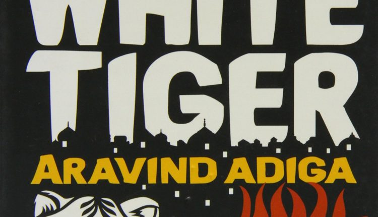 Cover page of The White Tiger