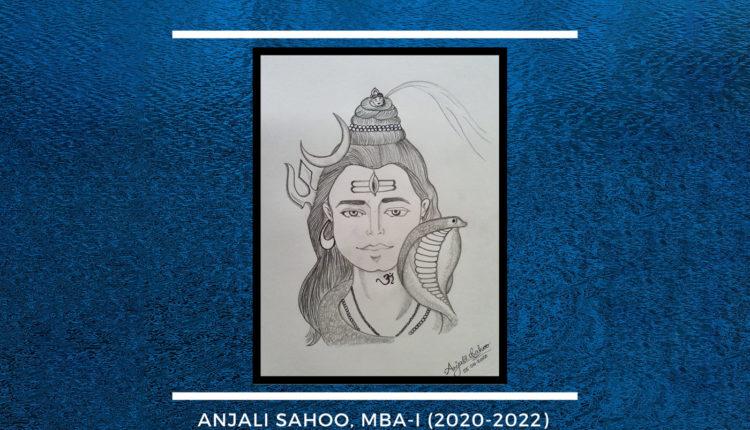 Lord Shiva By - Anjali Sahoo
